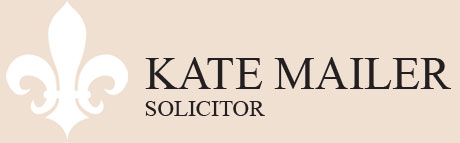 Kate Mailer Solicitor Logo